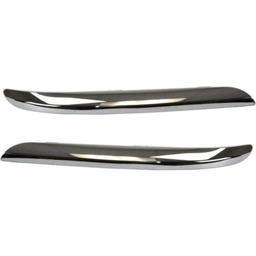 Bumper Trim for Chrysler 300 11-14 Front Right and Left Side Chrome ()