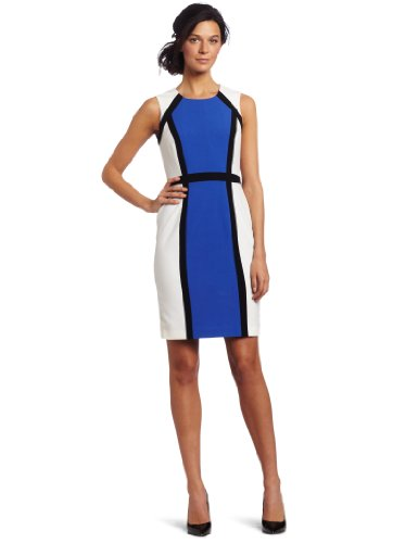Calvin Klein Women's Color Block Sheath Dress