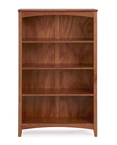 "Camaflexi SHK355 Shaker Style Bookcase, 48"", Brown"