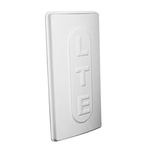 LTE Hochleistungs - LTE Antenne (800 MHz) mit 15dBi Verstärkung - inklusive 5m Twin-Antennenkabel - LTE MIMO Richtantenne zur Leistungssteigerung Ihres LTE Signals - passend für Telekom Speedport LTE & LTE II, Vodafone B1000 & B2000, EasyBox 904, Vodafone LTE-Modem, LTE-Turbobox LG FM300, O2 LTE Router, Huawei B390, B593, DD800...