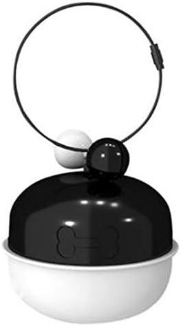 SODIAL Rastreador GPS Inteligente Impermeable para Mascotas, Collar GPS para Perros y Gatos, AGPS LBS, Collar Rastreador AntipéRdida, Rastreador de Posicionamiento-Negro