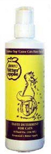 (Grannick's Bitter Apple 8-Ounce Dabber-Top Bottle for Cats)