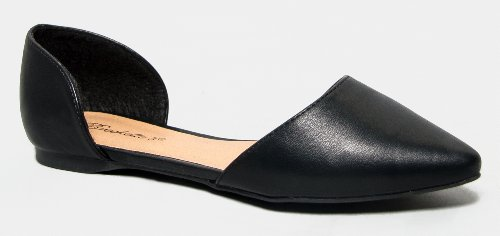 DOLLEY-22 / DOLLEY-23 Classic d'Orsay Pointed Toe Flat
