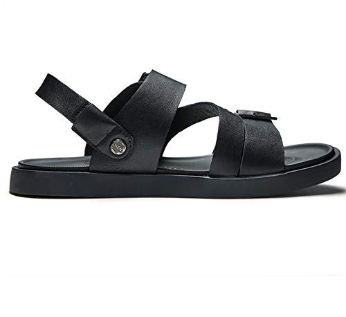 tamaño Al Sandalias Negro Libre 42 Negros EU Playa Aire Zapatos Wangcui Negro Color Hombre para Transpirables Sandalias De wqOtv6