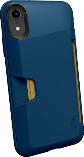 Silk iPhone XR Wallet Case - Wallet Slayer Vol. 1 [Slim + Protective] Credit Card Holder for Apple iPhone 10R - Blues on the Green