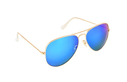 Bloomfield Aviator Sunglasses Glass lenses for men and women BFAG (Kingston, - Glasses Kingston