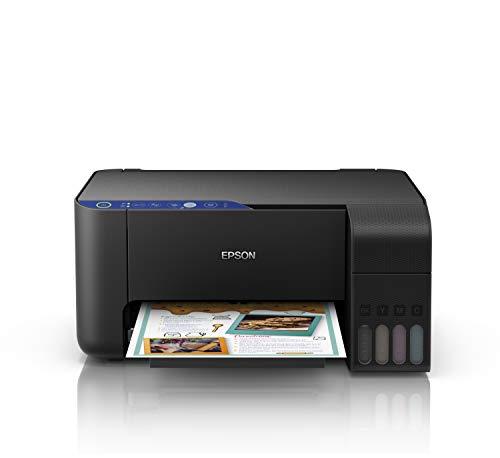 Epson EcoTank ET-2711 | Impresora Wi-Fi A4 Multifunción | Copia / Escaneado / Impresión