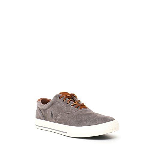 POLO RALPH LAUREN VAUGHN gris carbón zapatos de hombre zapatillas de deporte gris
