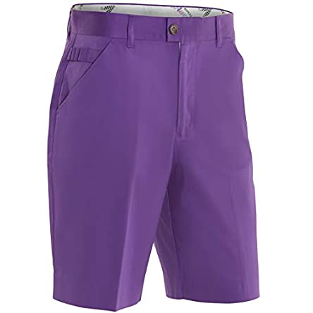 Royal & Awesome Men's Solid Colour Golf Shorts