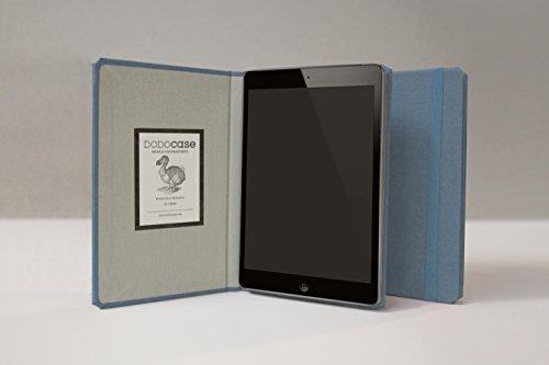 The iPad Mini Solid Case by DODOcase - The Original Handcrafted Book Bound iPad Case (Slim Ocean)