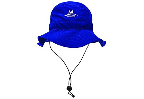 Mission Cooling Bucket Hat, - Cat Short Arctic