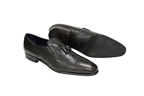 Black Llam Wingtip Slip-On List Price: 00.00 (Now 50% OFF)