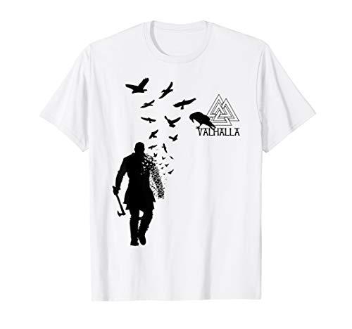 bfe73727 Ragnar's raven - vikings valhalla shirt le meilleur prix dans Amazon ...