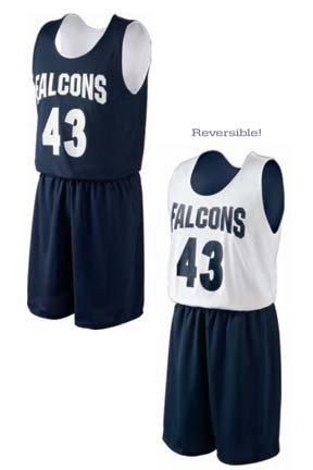 Halfcourt Reversible Unisex Basketball Jersey / Tank Top from Holloway Sportswear
