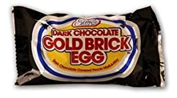 Elmer\'s Dark Chocolate Gold Brick Eggs (24 Individual Eggs)
