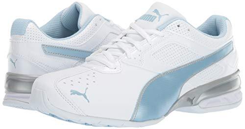 Women's Cross Silver Puma cerulean Fm White Shoe Tazon 6 Wn's trainer puma fTfdxqnCaR