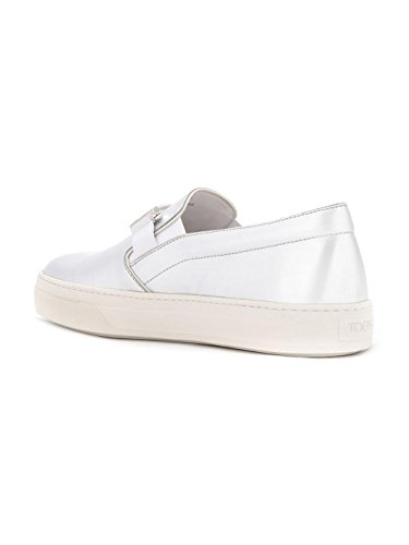 Tod's Slip On Sneakers Donna XXW0XK0R161SV0B200 Pelle Argento