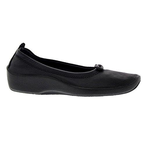 Black Textile L1 Womens Shoes Arcopedico nUpgq1xfw