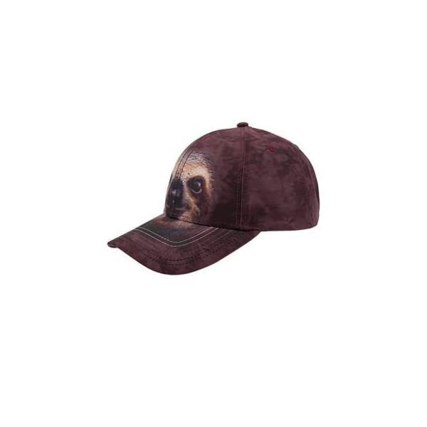 Otto The Mountain Sloth Face Low Profile Style Caps -