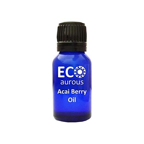 - Acai Berry Oil (Euterpe Oleracea) 100% Natural, Organic, Vegan & Cruelty Free, Pure Essential Oil By Eco Aurous With Euro Dropper 10 ml(0.33 oz)