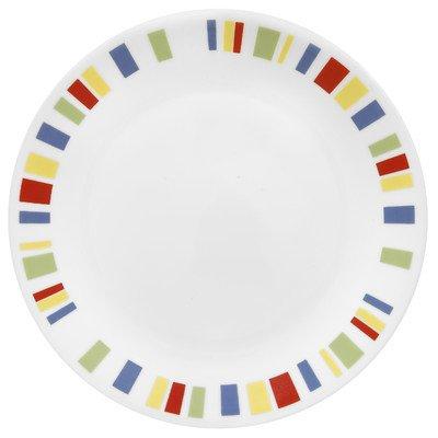 """Corelle Livingware Memphis 8-1/2"""" Salad/Luncheon Plate (Set of 4)"""