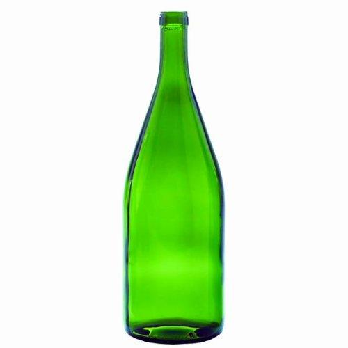Midwest Homebrewing and Winemaking Supplies 1.5 Liter Green Burgundy Bottles, 6per Case
