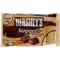 Hershey's Nuggets Milk Chocolate W/Almonds-12 oz
