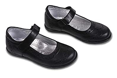 Amici Shoes Black Flat Sandal For Girls