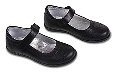 Amici Shoes Black Flat Sandal For Girls
