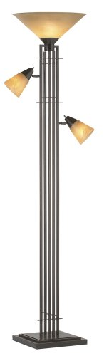 Metro Collection 3-in-1 Torchiere Floor Lamp