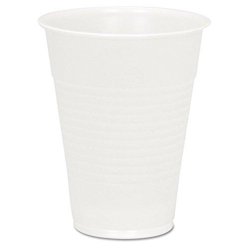 Boardwalk YP-10C Clear Plastic PETE Cups, 10 oz (20 Sleeves of 145)