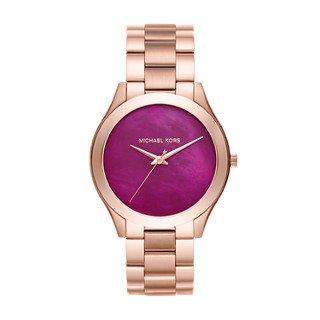 Michael Kors Women's Slim Runway Rose Gold-Tone Watch MK3550