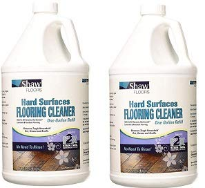 Shaw Floors R2X Hard Surfaces Flooring Cleaner Ready to Use No Need to Rinse Refill 1 Gallon (2-(Pack)) by Shaw (Image #1)