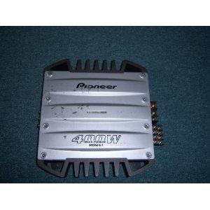 Pioneer GM-X374 - Amplifier - 4-channel - 70 Watts x 4: Amazon.co ...