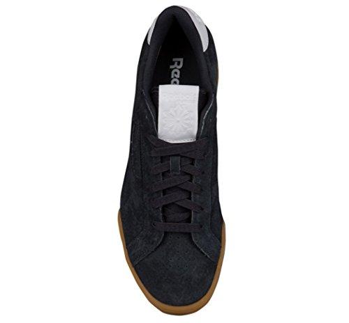 Reebok Uomo Npc Uk Ii El Fashion Sneaker Lead / White Gum
