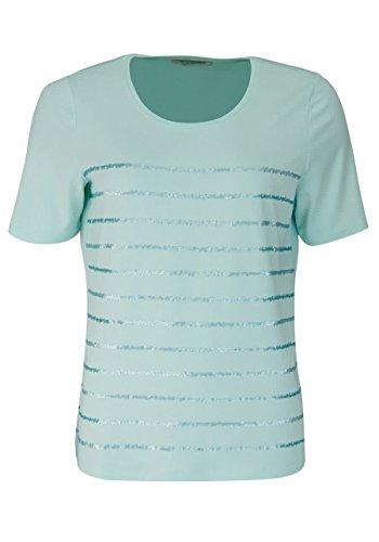 BETTY BARCLAY Kurzarm T-Shirt Rundhals Pailletten mint