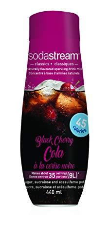 SodaStream Black Cherry Cola Syrup, 14.8 Fluid Ounce
