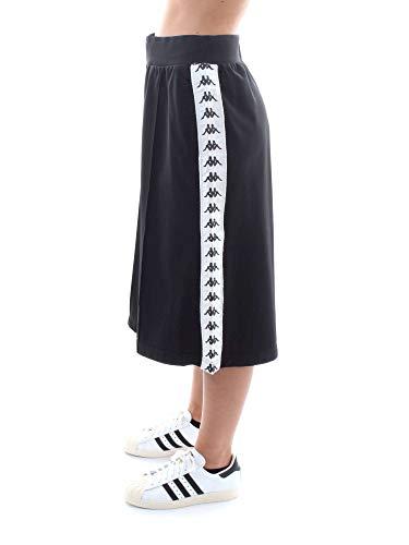 3031vz0 Donna Kappa 222 White Black 921 Pantaloncino Afleur PwqzTT