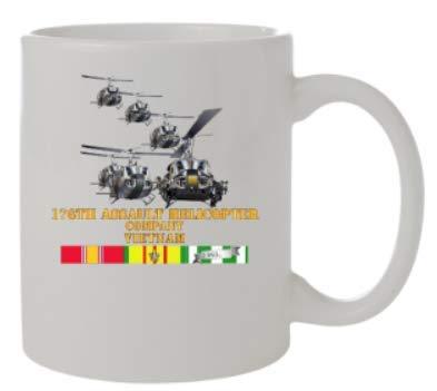 (Mug 11oz - White - Front - 176th AHC w Aslt Force - VN)