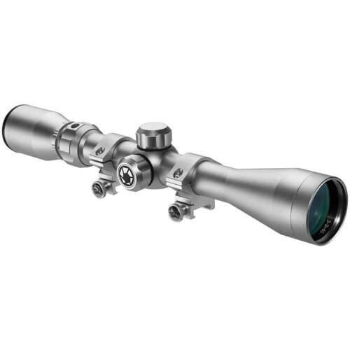 New Barska 3-9x40mm 30/30Rifle Scope with Rings, Silver by Barsaka