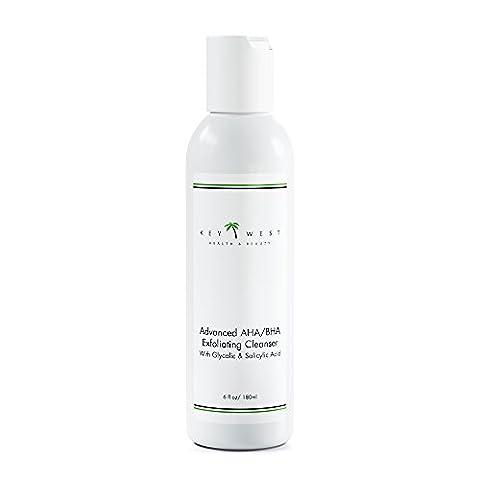 Advanced AHA/BHA Exfoliating Cleanser w/ Glycolic and Salicylic Acid (Organic Salicylic Acid Powder)