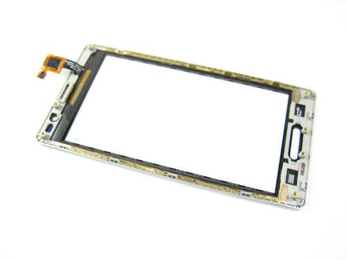 For Lg Optimus L9 P760 P765 P768 White ~ Touch Screen Digitizer Pantalla+frame ~ Mobile Phone Repair Part Replacement