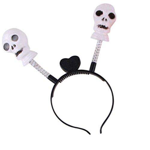 Halloween Lightning Machine (Livoty Halloween LED Pumpkin Light Party Props Headbands Dress up Accessories (C))