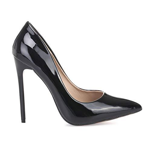 Sintético Zapatos Modeuse La 50653 Negro De Vestir Mujer wBvfnq8x