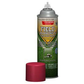 Champion 4822 Field Marking and Striping Spray Paint, Safety Red (Pack of 12)