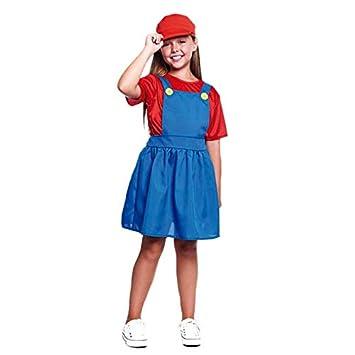 Disfraz Fontanera Roja Niña (7-9 años) (+ Tallas) Carnaval Cine y ...