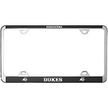 Amazon Com Duquesne University Metal License Plate Frame