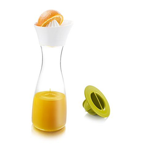 vacu-vin-4760260-carafe-avec-presse-agrume-plastique-transparent-vert-29-cm