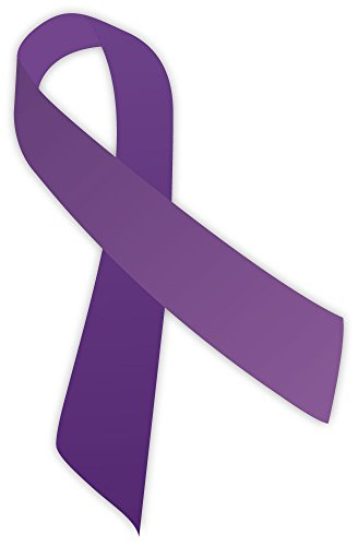 purple-ribbon-sticker-decal-3-x-5