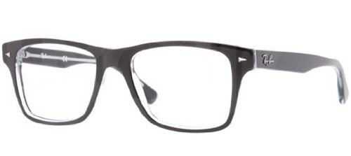 Ray Ban RX5308 Eyeglasses-2034 Top Black On - Glasses Ray Transparent Ban